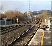 SS7597 : The view north from Neath railway station by Jaggery