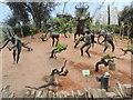 SX0554 : Bronze statuettes, Eden Project by nick macneill