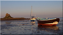 NU1341 : The Ouse, Holy Island by wfmillar