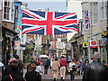 TQ8209 : Union Flag on George Street by Oast House Archive