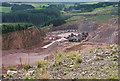 NT9508 : Harden quarry, Biddlestone (1) by Stephen Richards