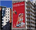 J3374 : Coca-Cola 125th anniversary poster, Belfast (2) by Albert Bridge