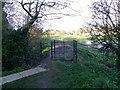 NZ2809 : Kissing gate, St Peter's Churchyard by Maigheach-gheal
