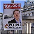 J3373 : Election poster, Belfast (14) by Albert Bridge