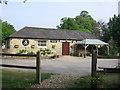 ST7734 : Stourhead Farm Shop by Virginia Knight