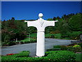 C0834 : St Francis of Assisi statue, Ards Friary by Rossographer