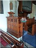 SD2296 : Holy Trinity Church, Seathwaite, Pulpit by Alexander P Kapp