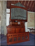 SD2296 : Holy Trinity Church, Seathwaite, Organ by Alexander P Kapp