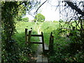 TQ2816 : Squeeze stile on path 69Hu to Hurstpierpoint by Dave Spicer