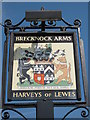 TQ6036 : Brecknock Arms, Pub Sign by David Anstiss