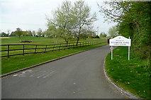 SU6154 : Entrance to Weybrook Park golf club by Graham Horn