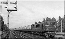 TQ0562 : Pioneer SR Diesel on the Down 'Royal Wessex' express at West Weybridge by Ben Brooksbank