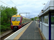 NS4075 : Dumbarton East railway station by Thomas Nugent