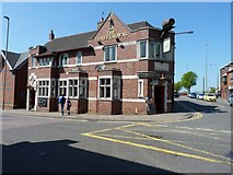 SO9490 : The Three Crowns, Dudley by Richard Law