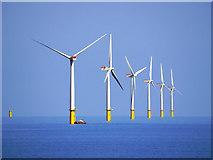 SD1462 : Walney Offshore Windfarm by David Dixon