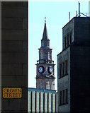 NS2776 : The Mid Kirk steeple by Thomas Nugent