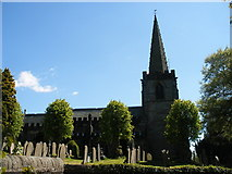 SK2381 : Hathersage Church by SMJ