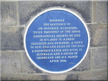 NZ0516 : Blue plaque, 21 Galgate in Barnard Castle by Stanley Howe