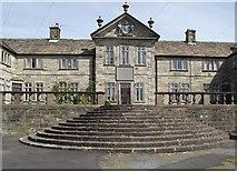 SD6838 : Almshouses at Hurst Green by Philip Platt