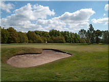 NZ2237 : Brancepeth Golf Course by Trevor Littlewood