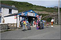 SX0486 : Tintagel: Surf Shop at Trebarwith Strand by Martin Bodman