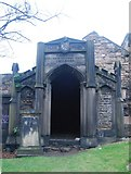 NT2674 : Robert Burns Mausoleum, Old Calton Burial Ground by N Chadwick