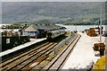 NG7627 : Kyle of Lochalsh station, 1998 by Rob Newman