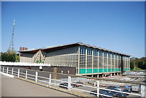 TQ3470 : National Sports Centre, Crystal Palace by N Chadwick