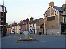 SH5638 : New Street, Pothmadog, Gwynedd by Christine Matthews
