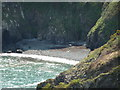 SM9240 : Beach flotsam below Carregwastad Point by Jeremy Bolwell