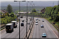 J3380 : The M2 (hill section), Belfast (4) by Albert Bridge