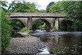 SK2477 : Bridge over river Derwent Grindleford by John Jennings