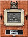 SJ8096 : The Munich Memorial Plaque by David Dixon