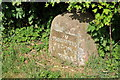SO8646 : Milestone in Kerswell Green by Philip Halling
