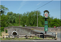 SO8688 : Greensforge Bridge near Kingswinford, Staffordshire by Roger  Kidd