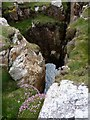 NR2947 : Natural Arch near Soldier's Rock, Islay by Becky Williamson