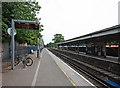 TQ2275 : Barnes Railway Station by John Salmon