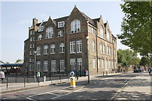 TQ3279 : Globe Academy, Harper Road by Roger Templeman