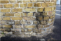 TQ3279 : Benchmark on wall of Hunter Close at junction with Prioress Street by Roger Templeman
