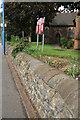 SO9996 : Interesting wall, Wednesbury by Chris Allen