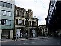 TQ3280 : Derelict building, Southwark Street by PAUL FARMER