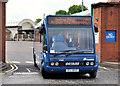 J3373 : City Airport bus, Belfast by Albert Bridge