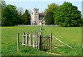 SP8402 : Hampden church by Graham Horn