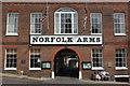 TQ0107 : Norfolk Arms Hotel, Arundel by Stephen McKay