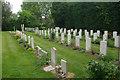 SU9006 : Tangmere Churchyard by Stephen McKay