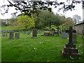 SD3687 : St Peter's Church, Finsthwaite, Graveyard by Alexander P Kapp