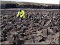 HY3906 : Peat Worker by Derek Mayes