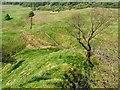 NS4376 : View down a ridge by Lairich Rig
