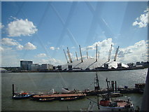 TQ3980 : View of the O2 from the lighthouse by Robert Lamb