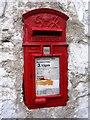 NR3845 : George Reigns Letterbox, Laphroaig Distillery, Islay by Becky Williamson